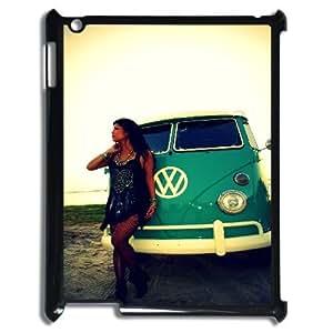 Hjqi - Custom VW Mini Bus Teal Phone Case, VW Mini Bus Teal Customized Case for iPad2,iPad3,iPad4