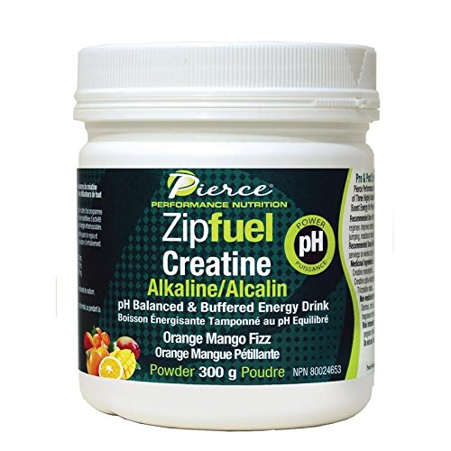 Prairie Naturals Zipfuel Creatine PH Balanced Energy Drink, Orange Mango, 10.6 Ounce