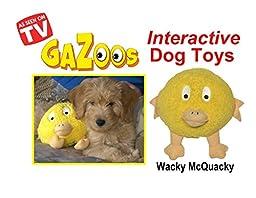 Gazoos Interactive Dog Toy - Wacky McQuacky