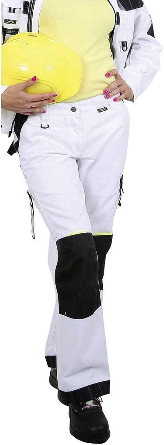 Bundhose sehr strapazierfähig 275g//qm weiß 36-44 Damen Arbeitshose Gr