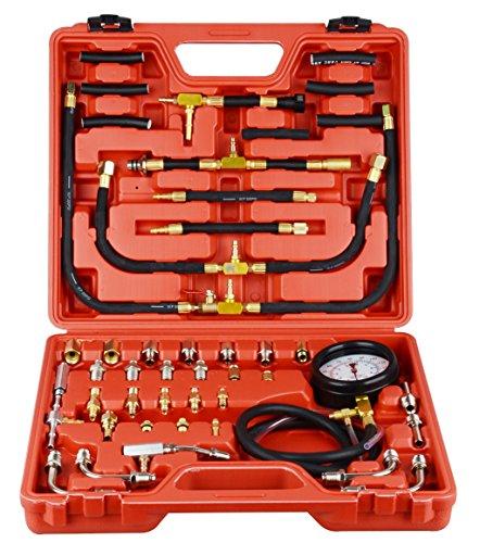 DA YUAN 0-140 PSI Fuel Injection Pressure Gauge Tester Tool Kit by DA YUAN (Image #5)