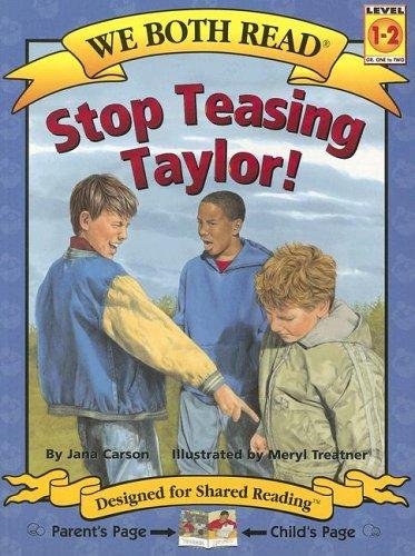 Stop Teasing Taylor! (We Both Read: Level 1-2) PDF