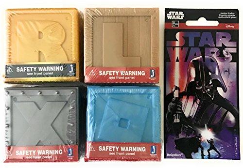 Roblox Mystery Box Bundle- (series 1,2, and 3)+BONUS Star Wars Sticker! SET of 4 (Star Wars Series 1 Sticker)