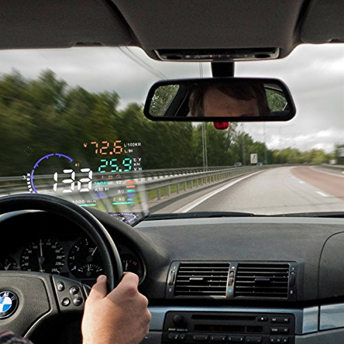 Flexzion Universal Vehicle Mounted Temperature Speedometers