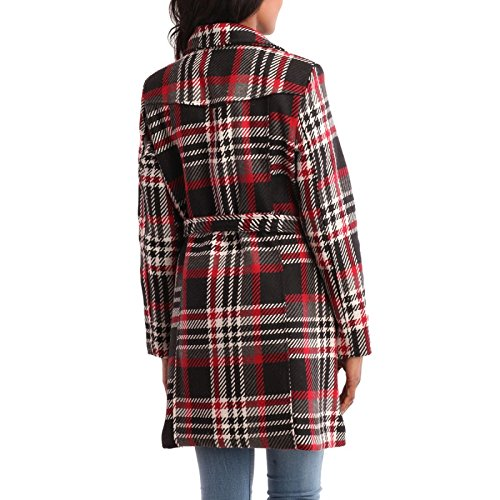 La Modeuse - Abrigo - para mujer Multicolor