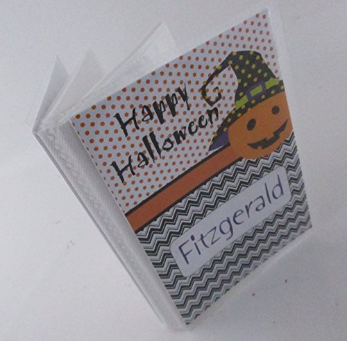Halloween Favor Photo Album #IA194 4x6 or 5x7 Picture Happy Halloween Gift Jack O Lantern Pumpkin Trick or Treat