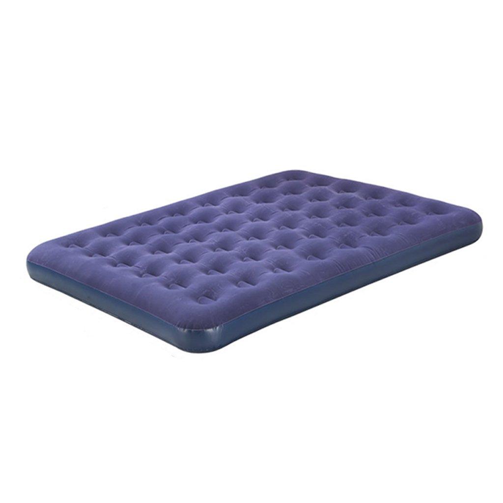 CUI XIA UK Air bed Einzelnes doppeltes aufblasbares Bett Luftmatratze Hauptdoppeltes aufblasbares Bett Bewegliches faltendes Luftbett Mit externer elektrischer Pumpe
