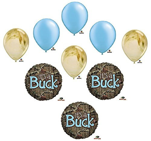 Set of 3 IT'S A BUCK CAMOUFLAGE BABY