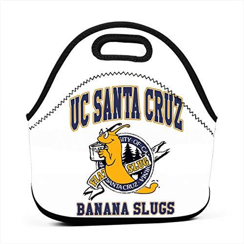 (Lunch Bags UC Santa Cruz Banana Slugs Bento Bags Mini Carry Case For Adult)