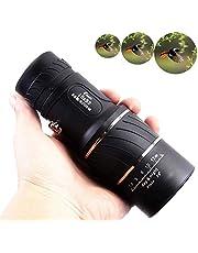 F.Dorla 16x52 HD Optical Monocular Telescope,Outdoor Portable Dual Focus Optics  Zoom Lens Monoculars for BirdWatching Hunting Camping Hiking Traveling