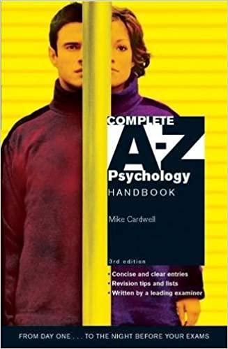 Complete A-Z Psychology Handbook 3rd Edition: Amazon co uk