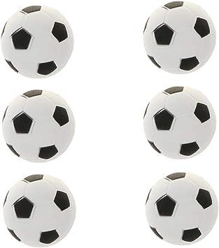 6X Juguete Deportivo de Pelota de Fútbol EVA para Niños Decoración ...