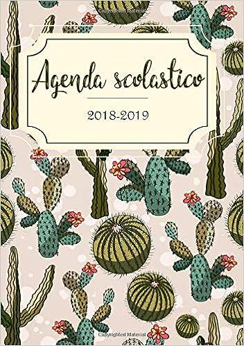 Amazon.com: Agenda 2018-2019: Anno scolastico Agenda ...