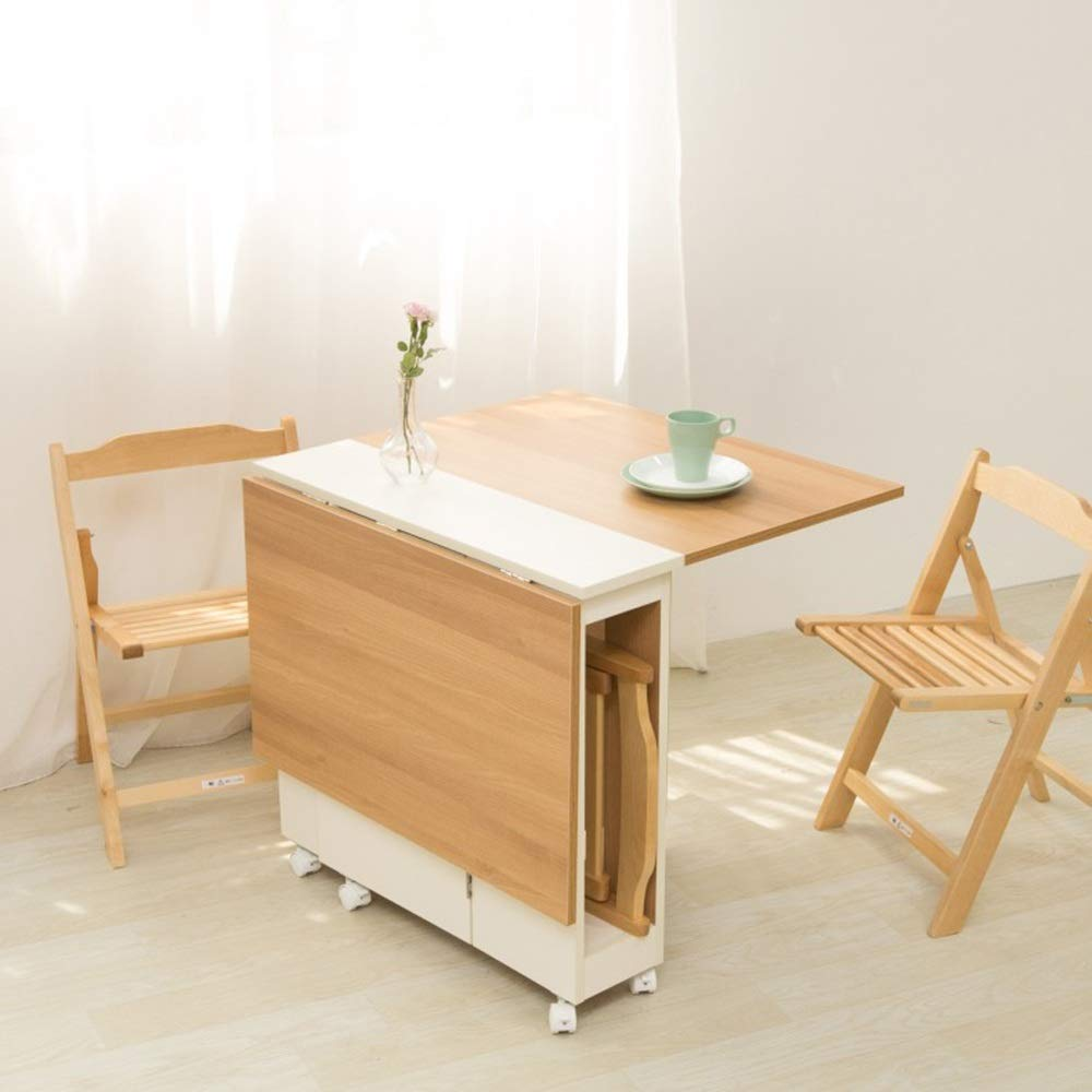 Amazon.com : Folding Table, Computer Table, Kitchen Table ...