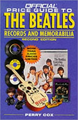 Book The Official Price Guide to the 'Beatles' Records and Memorabilia