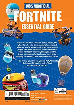100% Unofficial Fortnite Essential Guide: Amazon.es: Becker&Mayer ...