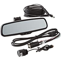 Rear View Safety Backup Camera System with Flush Mount Camera and Mirror Monitor RVS-772718