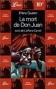 La mort de Don Juan - L'affaire Carroll par Ellery Queen