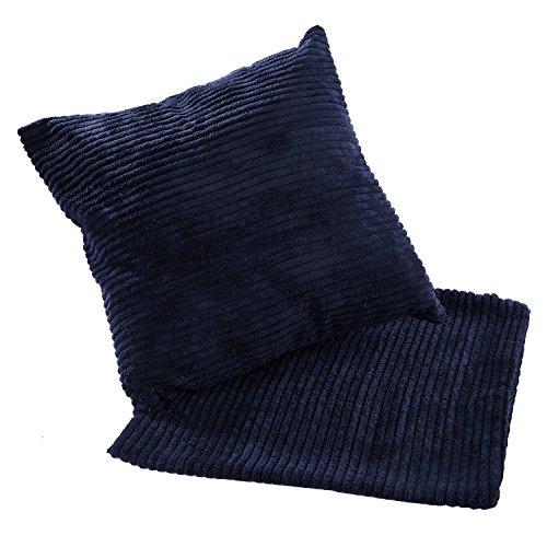 Dark Blue Corduroy - 1
