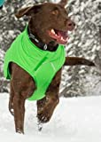 RUFFWEAR QUINZEE GREEN INSULATED DOG JACKET EASY ON / OFF ALL SIZES (Medium)