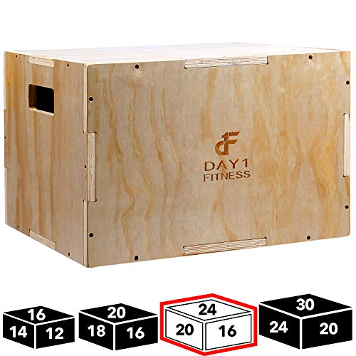 Wood Plyometric Box by