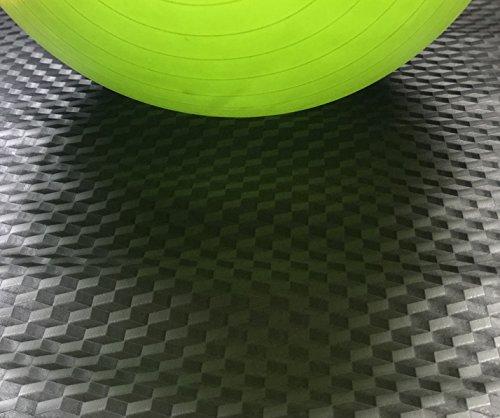 Flooring Diamond Vinyl Plate (AMERIQUE 691322304114 Premium 3Rd Generation Unique and Durable Embossed Diamond Plate Metallic Vinyl Flooring, 100 Square Feet)