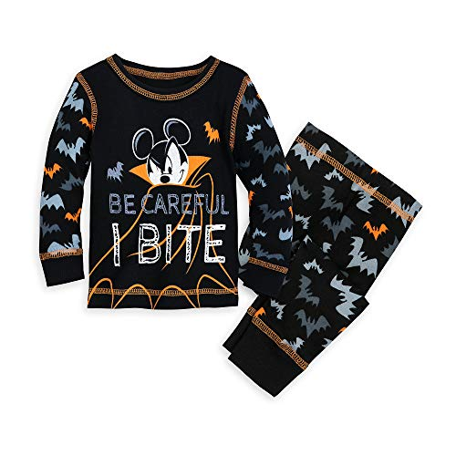 Price comparison product image Disney Mickey Mouse Halloween PJ PALS for Baby Size 12-18 MO Multi