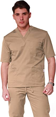 Uniforme para personal sanitario de algodón 100%: pantalón + ...