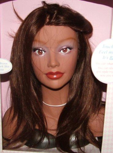 Mannequin Courtney 100% Virgin European Hair Miniature African America by mannequin