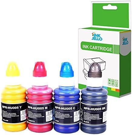 Inkjello Kompatibel Refill 100ml Pigment Tinte Für Hp Elektronik