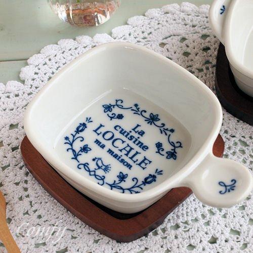 イブキクラフトの片手グラタン皿