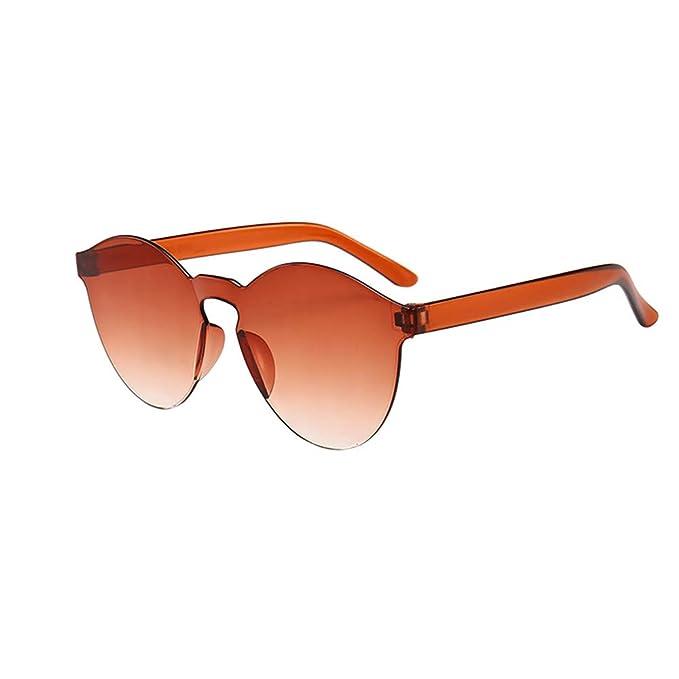 asdkfh Gafas de Sol Combinadas Sin Marco Color Gafas Gafas ...