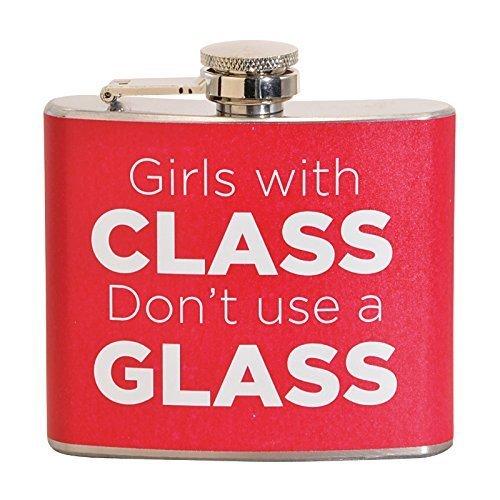 大注目 Girls Withクラスを使用しないガラス太字5オンスステンレス鋼フラスコ B018WIGRJY B018WIGRJY, BESIDEインテリアショップ:48a53f75 --- pardeshibandhu.com
