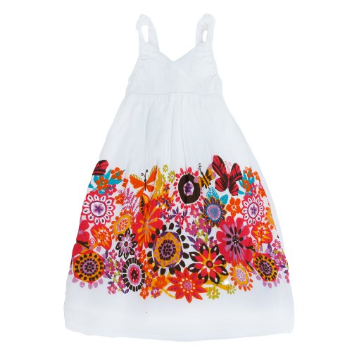Richie House Little Girl's Summery Wildflower Dress RH120116-2/3