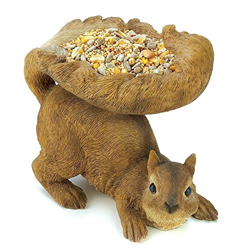 Gifts and Decor Woodland Brown Squirrel Outdoor