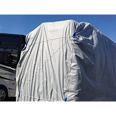 CarsCover Waterproof Class B RV High Top Conversion Van Cover Fit up to 24ft (289 inch) Sprinter, Minibus, Winnebago Era, Roadtrek, Airstream Interstate, Great West, Leisure Travel, Pleasure-Way: Automotive