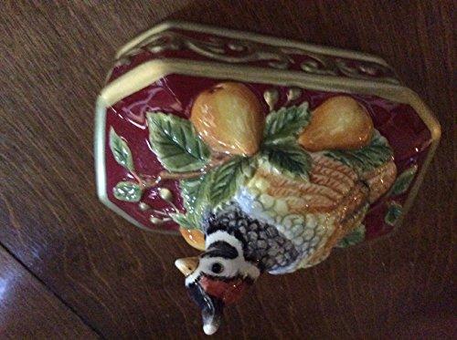 Fitz Floyd Small Partridge Box