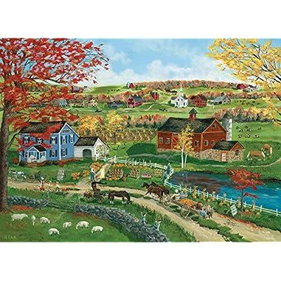 EuroGraphics 5387 Pumpkin Season Puzzle (300 Piece): Toys & Games
