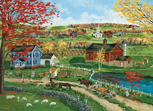 EuroGraphics 5387 Pumpkin Season Puzzle (300 Piece)