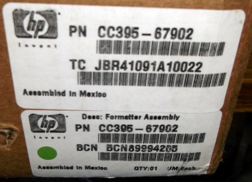HP M9040/M9050 Formatter Board, OEM Outright by HP