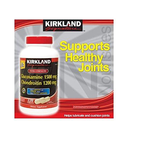 Kirkland SignatureTM Extra Strength Glucosamine/ch…