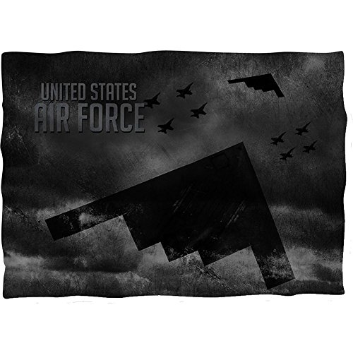 Wicked Tees AIR FORCE STEALTH Pillow Case