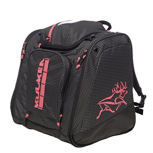KULKEA Powder Trekker - Black-White/Pink