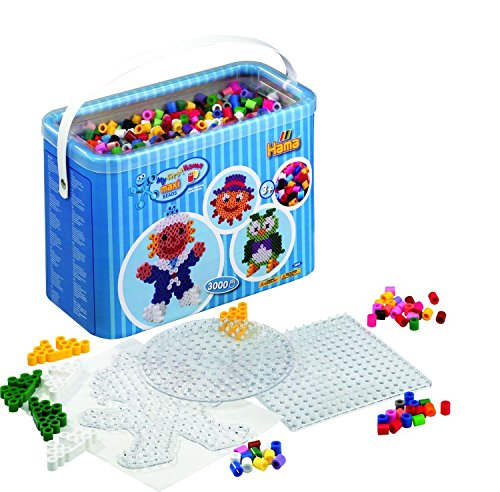 - Hama Maxi Beads and Pegboards in Bucket
