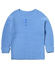 Lymnshi Baby Girls Cable Knit Long Sleeve Front Open Cardigan Sweater