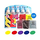 Tie-Dye Kits Neon Cotton Linen clothing dyes 5 Color 1 Set