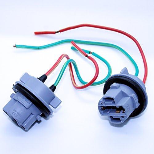 LED-Mafia 2X 7440 T20 W21/5W Sockel Lampenfassung Reparatur Kabel Lampe Stecker Fassung