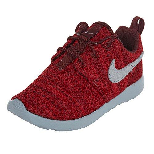 Nike Kids Roshe One Running Shoe Dark Team Red/Wolf Grey