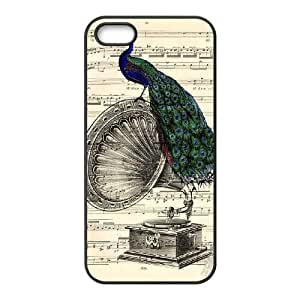 Gramophone Dictionary Art iPhone 4 4s Cell Phone Case Black MSU7181132