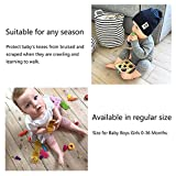 5 Pair Baby Knee Pads, Crawling Anti-Slip Knee for